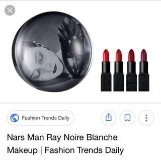 Nars Man Ray Noire Et Blanche Audacious Lipstick Coffret