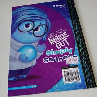 Inside Out 2 Books in 1 Joy's Greatest Joy Simply Sadness