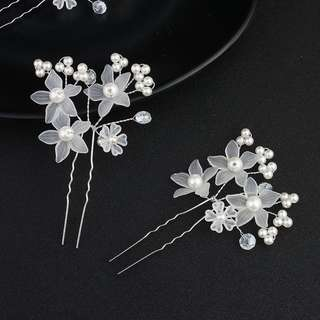 Brand new hair pins for wedding or party (2 pieces a set)