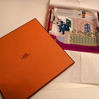 Hermes scarf 100% New