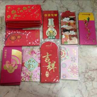 Assorted Red Packets Angbao