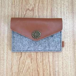 Felt card wallet