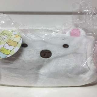 (新春大優惠)全新軟綿綿白雪雪筆袋(日本貨)