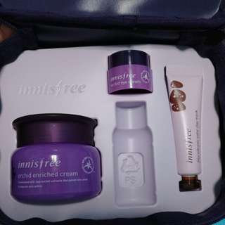Innisfree Orchid enriched cream set