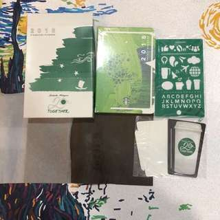 2018 Starbucks Planner limited edition (big/small)