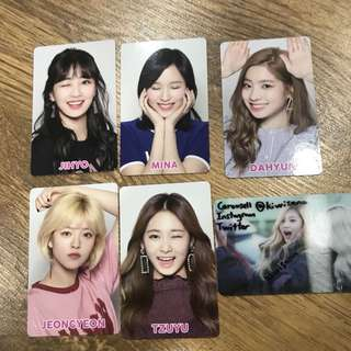 TWICE THAI PHOTOCARDS