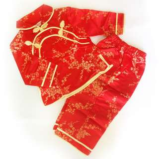 CNY Baby Girl / Toddler Traditional Costume with Embroidery