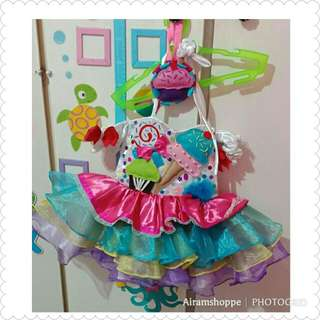 Candyland Gown (1-2yrs old)