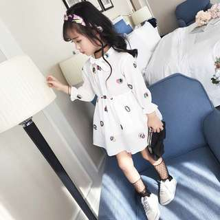 Korean Style baby girl Dress