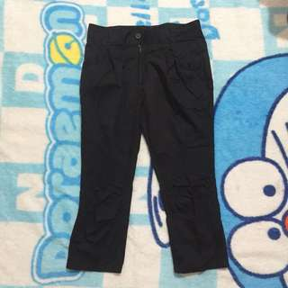 Black jeans 7/8