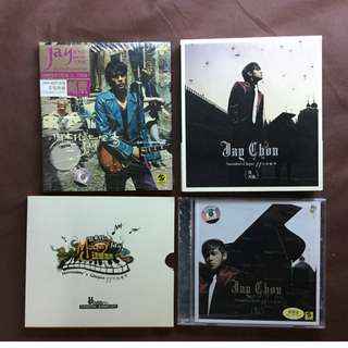 Imported Albums Jay Chou Common Jasmin Orange Stamp & November's Chopin Limited Edition 周杰伦七里香邮票 十一月的萧邦