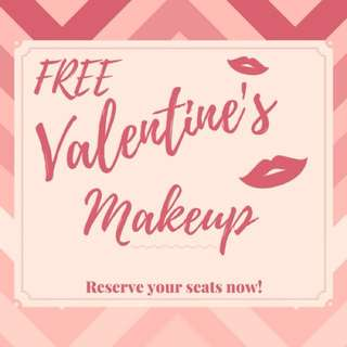 Make-up for Valentine's Day