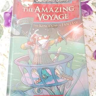 Geronimo stilton the amazing voyage