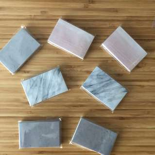 Marble Post-its and Washi Tape