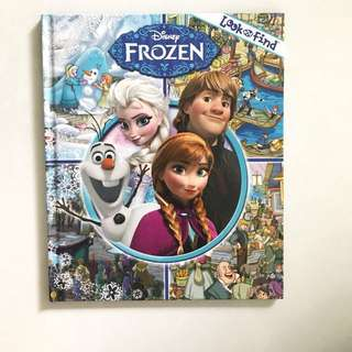 Look and Find Frozen