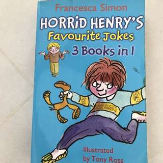 Horrid Henry 3 in 1 Jokes