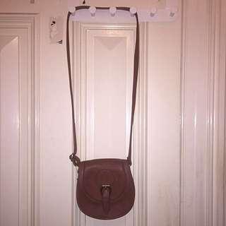 Brown/Beige Side Bag