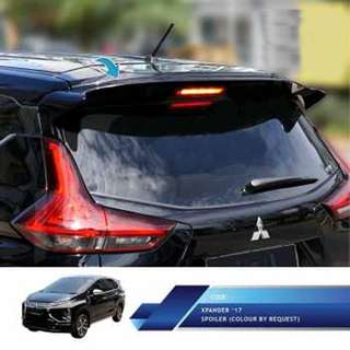 Mitsubishi Xpander Spoiler Model Original. Warna : Hitam / warna lainnya by request. Berat : 6,5kg.