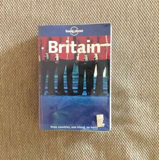 Lonely planet guide to Britain