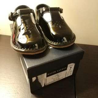 Ralph Lauren patent leather shoes