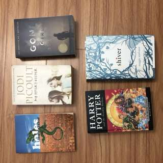 SELLING BOOKS | Gone Girl, Shiver, Harry Potter, My Sister's Keeper, Holes