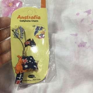 ⚡️FREE!!! Australia cellphone charm ☺️