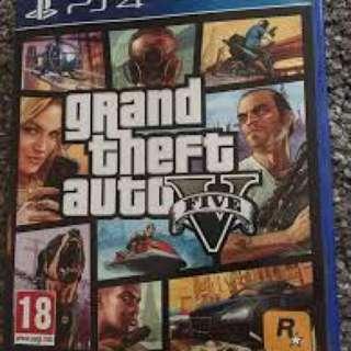 PS4 Gta 95%new