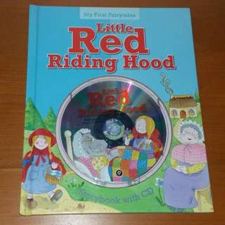 Little RED Riding Hood Storybook With CD