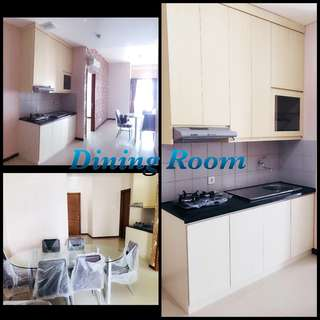 Apartment for Yearly Rent at Pluit, North Jakarta - Seaview Condominium Tower K, Green Bay Pluit, LB 74 m2, 2 BR, 2 Bathroom, 2 Balconies with Sea Views, Fully Furnished