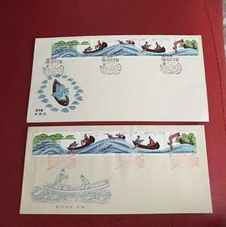 China stamp 1981 T59 2 FDC