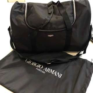 GIOGIO ARMANI travel bag (Authentic)