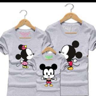 BNWT Mickey Mouse Family shirts