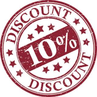 10% Off Discount to all Backpacks!