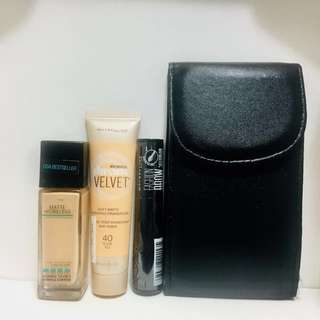 Maybelline with freebies
