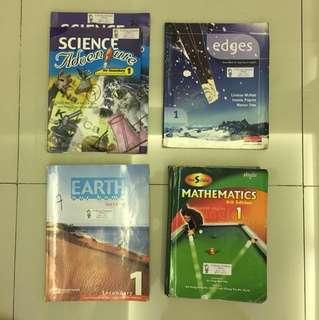 Paket Textbook Cambridge kelas 1 smp/7