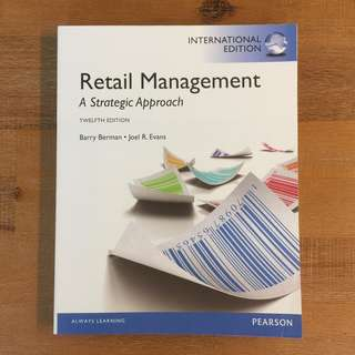 Retail Management: A Strategic Approach 12th Ed