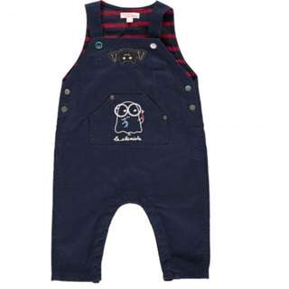 Baby boy overall jeans brand new with tag for boy or girl blue 12 month