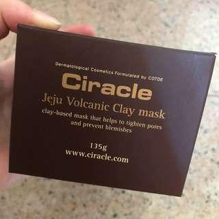 CIRACLE KOREA jeju volcanic clay mask