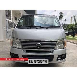 Nissan Urvan (COE till 01/2023)