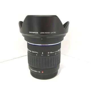Olympus lens 9-18mm f4-5.6
