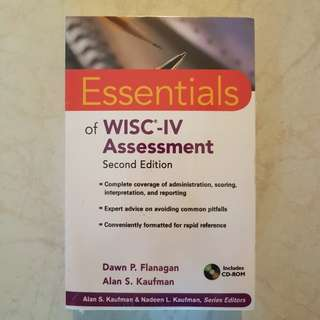 Essentials of WISC-IV Assessment - Second Edition (2nd Edition, 2e) Book