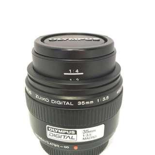 Olympus lens 35mm f3.5 MACRO
