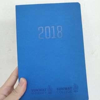 Sunway University 2018 Planner