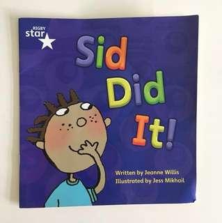 Rigby Star Sid Did It!