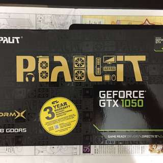 BRAND NEW PALIT GTX 1050 2GB (LOCAL WARRANTY)
