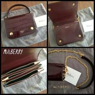99%New MULBERRY Clifton Crossbody bag 現貨