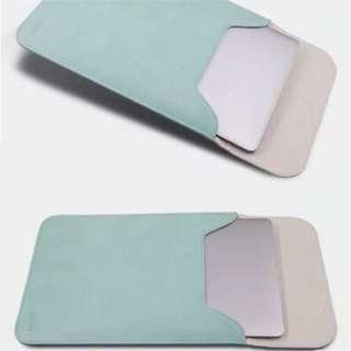 蘋果筆記型電腦包macbookpro保護套 皮套 青蘋果綠 13寸 隱形磁扣設計 觸感順滑 防水耐磨 輕 / 防刮 / 環保 / 易攜帶