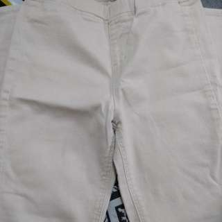 celana semi jeans merk uniqlo