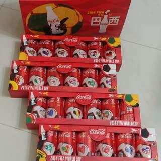 2014 巴西世界盃 可樂罐