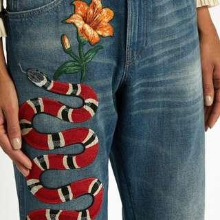 Jeans Gucci unisex , preoder , Premium quality